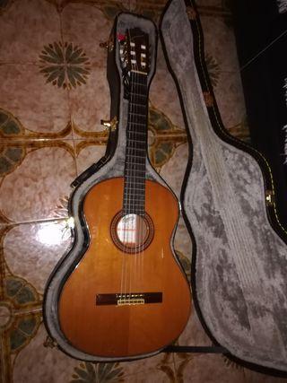guitarra José Ramírez MIDI con Roland gr 33