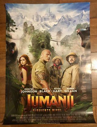 Poster cine Jumanji. Siguiente nivel