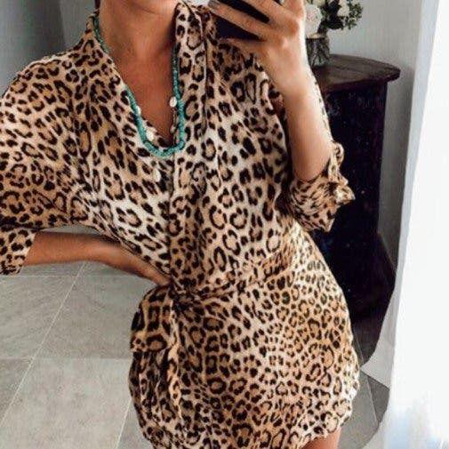 Mono leopardo Zara