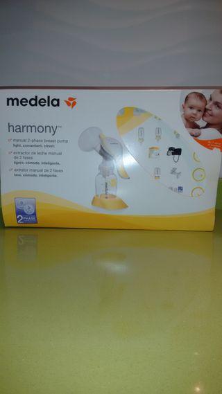 Sacaleches Medela Harmony manual.