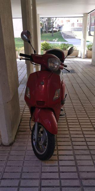 moto de 125 zahara keeway