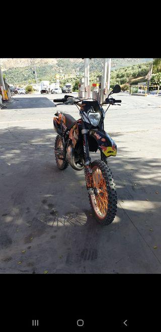 Ktm exc 125cc (Enduro)