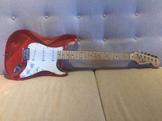 Guitarra Fender transparente !!!