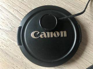 Tapa objetivo cámara réflex Canon