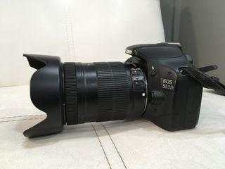 Cámara Reflex Canon EOS 550D objetivo 18-135