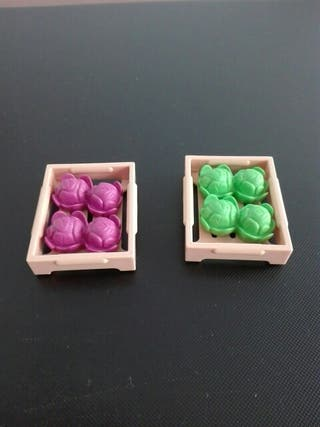 playmobil Cajas de lechugas