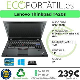 Lenovo T420s i7