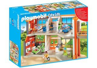 Conjunto NUEVO Hospital Playmobil