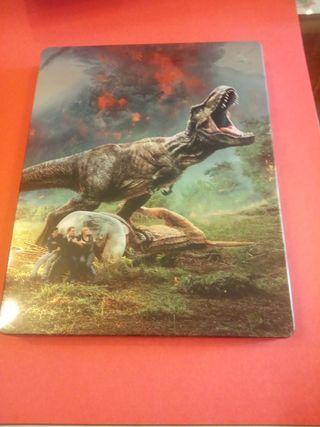 película jurassic world 3d blu-Ray y dvd