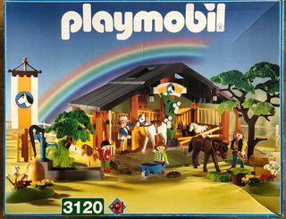 Establo de Playmobil