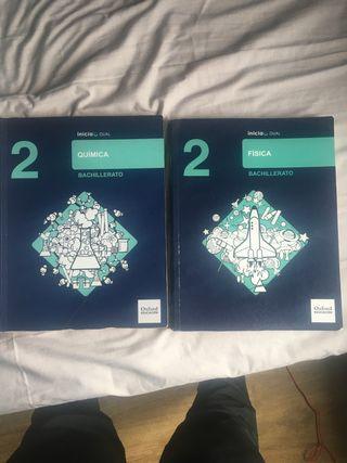 Fisica y Quimica 2 Bachillerato Oxford