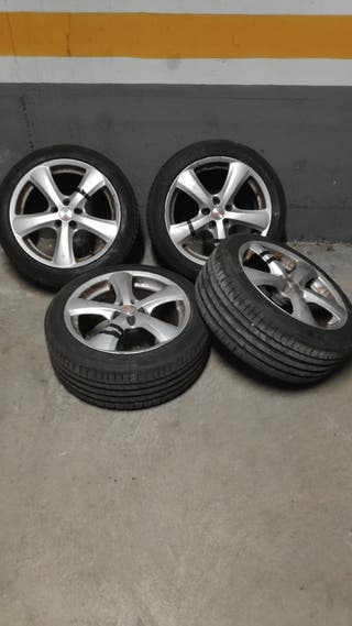 "ruedas 17"" pulgadas. Llanta y neumático"