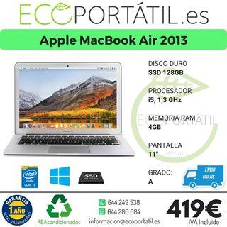 MacBook Air en grado A de 2013