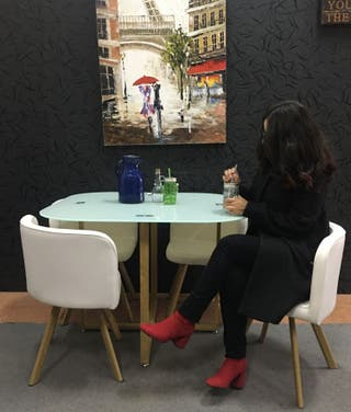 Mesa con 4 sillas [TEKA]