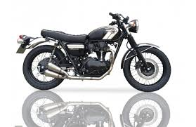 Kawasaki w800 escape ixil nuevo a estrenar