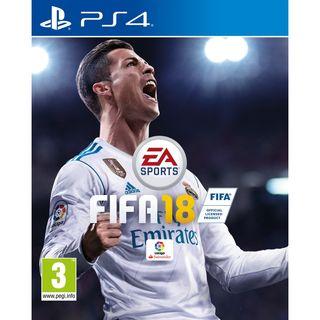 Fifa 18, para PS4