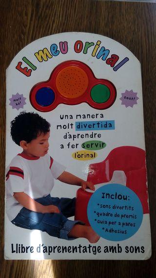 Llibre infantil el meu orinal