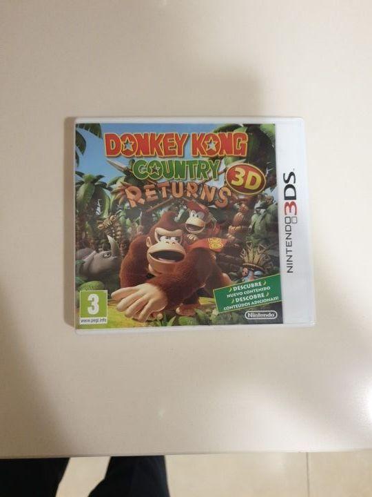 Videojuego Donkey Kong Country Returns 3D Nintendo