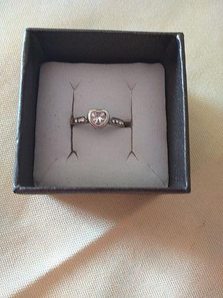 anillo plata con circonitas swarosky