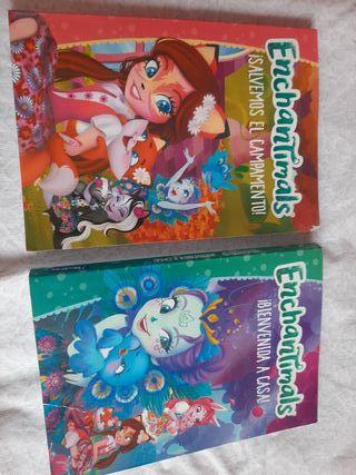 libros Enchantimals