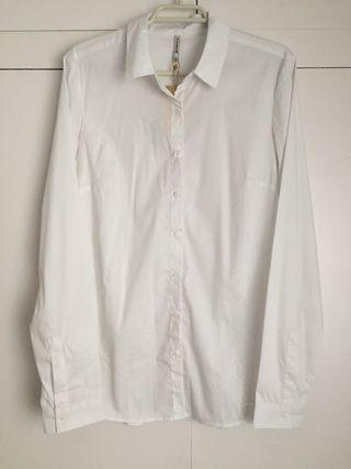 Camisa blanca Stradivarius Nueva