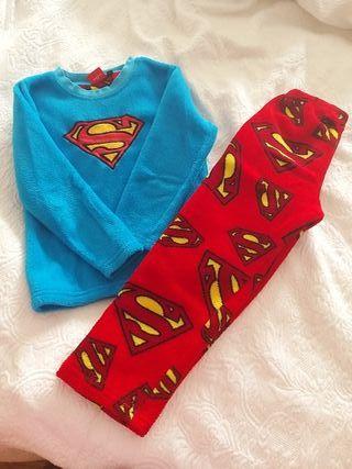 Pijama Superman 5/6 Disney