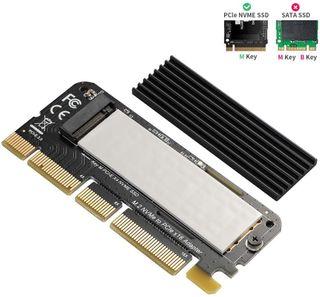 BEYIMEI NVME PCI Express 3.0 x16 en Tarjeta PCIe N