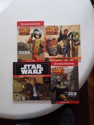 Lote libros infantiles Star Wars 5