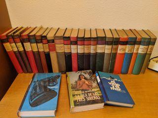 Colección de 25 Libros tapa dura