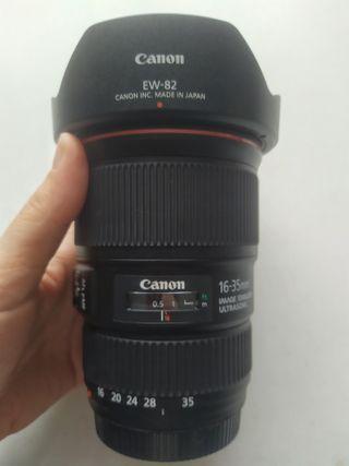Objetivo Canon EF 16-35 f/4L IS USM