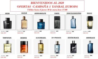 Yanbal perfumes Hombre y mujer