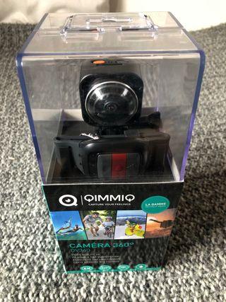 Cámara Vídeo Realidad Virtual Qimmiq Dv360 4K 12MP