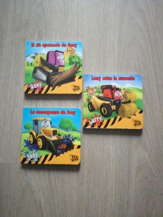 Lote 3 libros infantil
