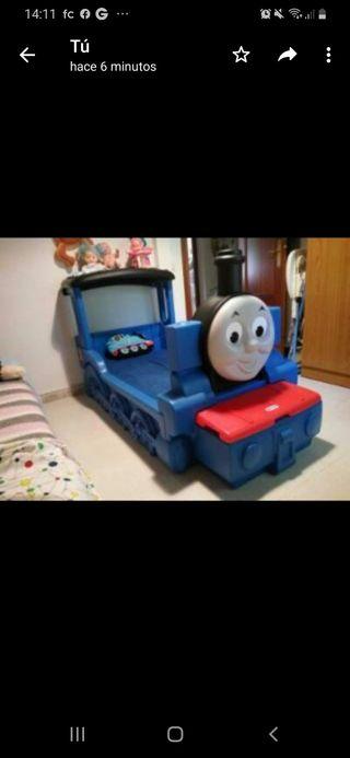cama Tren infantil