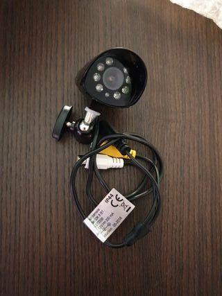 cámara de vigilancia con visión nocturna