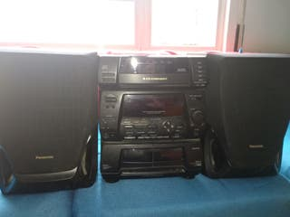 Cadena de música Panasonic