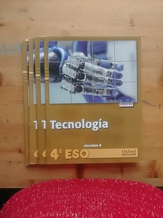 Libros de texto Tecnología 4 ESO