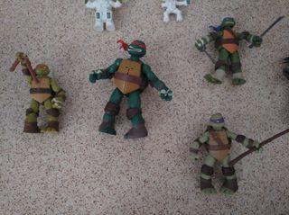 Lote tortugas ninja impecables condiciones