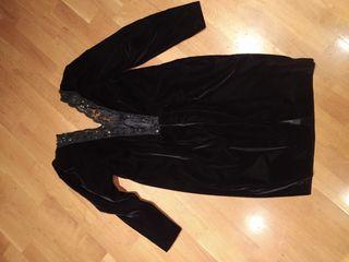 Vestido de fiesta negro premamá