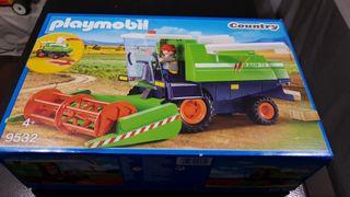 Playmobil 9532 Cosechadora verde