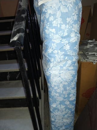 Colchón Pikolin 135 y base tapizada