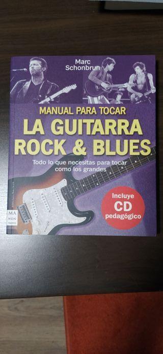 Libro práctico La guitarra Rock y Blues