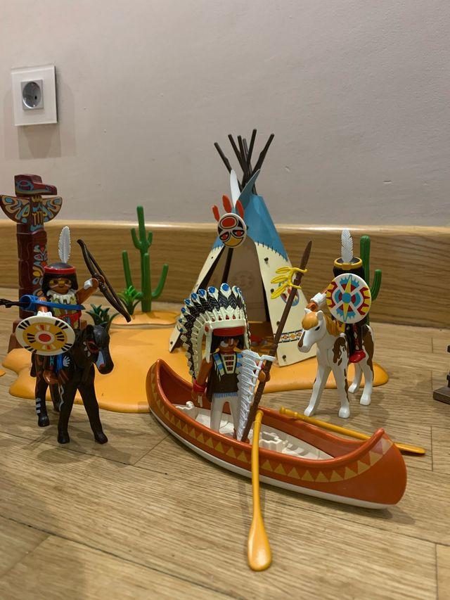 Súper set campamento indio 4012