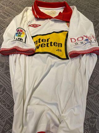Camiseta BOTIA Match worn SEvILLA