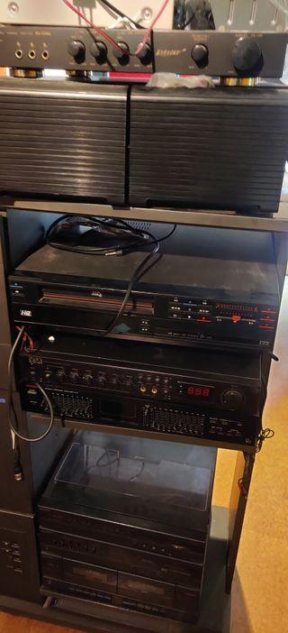VHS hifi amplificador karaoke