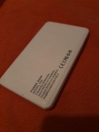 Bateria Portatil Ultrafina Nueva 5.000 mAH