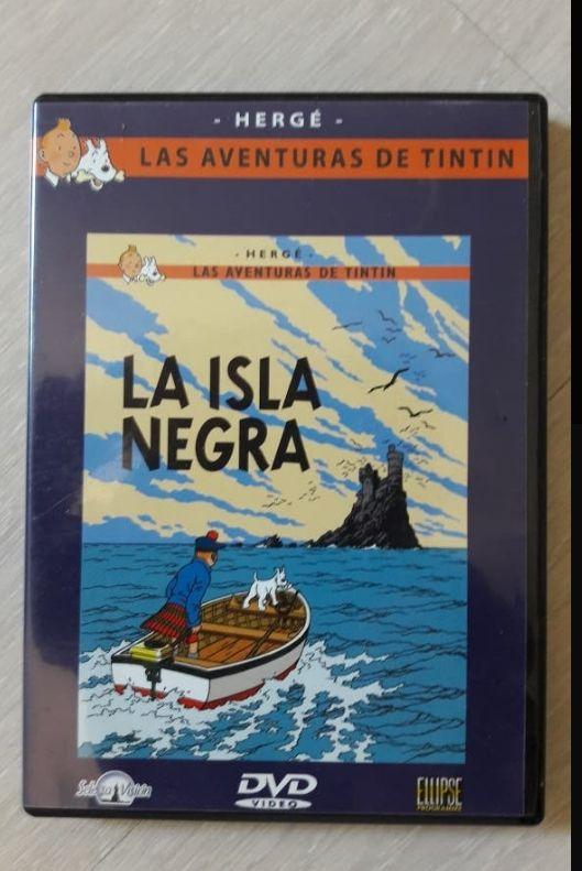 DVD PELICULA TINTIN- LA ISLA NEGRA