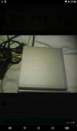 PARA PC O MAC REDES BACKUP,EXTERNO 3,5 LACIE 160gb