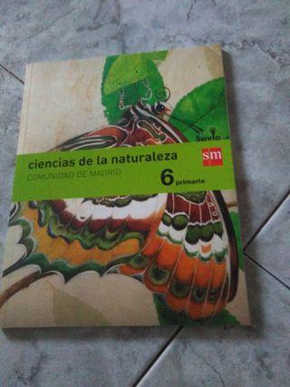 Ciencias Naturales 6 Primaria SM libro de texto
