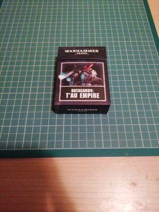 Datacards Imperio Tau Warhammer 40K